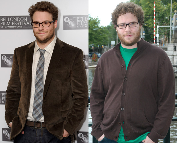 seth rogen after weight loss