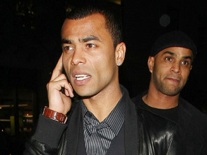 Ashley Cole Celebrities outside Funky Buddha Nightclub in London London