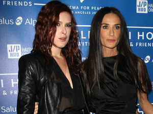 Rumer Willis, Demi Moore Cinema For Peace Event Benefitting J/P Haitian Relief held at The Montage Hotel Beverly Hills,