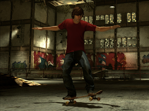 'Tony Hawk Pro Skater HD' screenshot