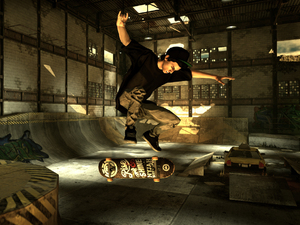 'Tony Hawk Pro Skater HD' screenshot
