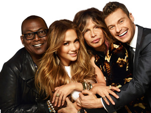 Steven Tyler, Jennifer Lopez, Ryan Seacrest, Randy Jackson, American Idol