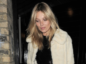 Kate Moss celebrates her 38th birthday at China Tang restaurant.