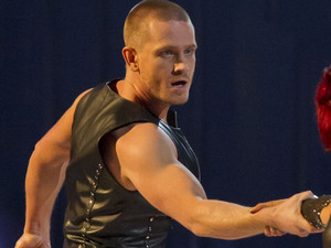 Matthew Wolfenden performs on week 2 of Dancing On Ice series 7