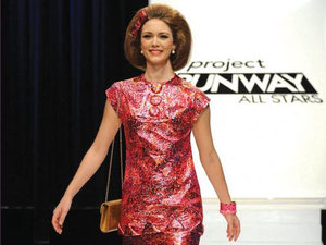 Project Runway All Stars Episode 3: Mondo's final design