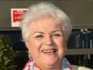 Pam St Clement Celebrities Outside the RTE Studios Dublin, Ireland