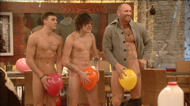 Kirk Norcross, Frankie Cocozza and Gareth Thomas