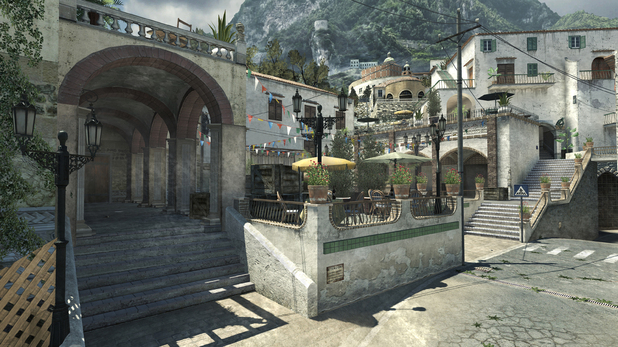The Liberation map from Modern Warfare 3's first DLC update