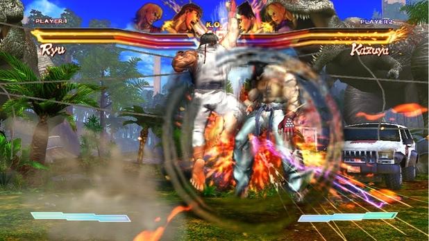 Ryu v Kazuya