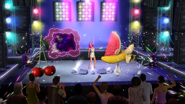 Katy Perry in The Sims 3: Showtime