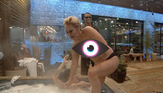 CBB housemates stripping off