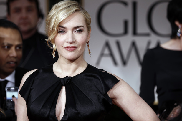 Kate Winslet, who won a Golden Globe for her role in TV miniseries Mildred Pierce