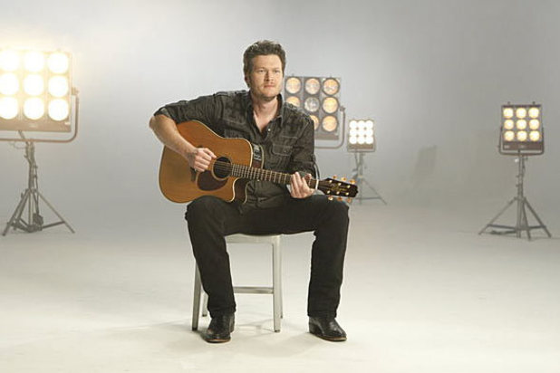 The Voice Season 2 Coach Blake Shelton