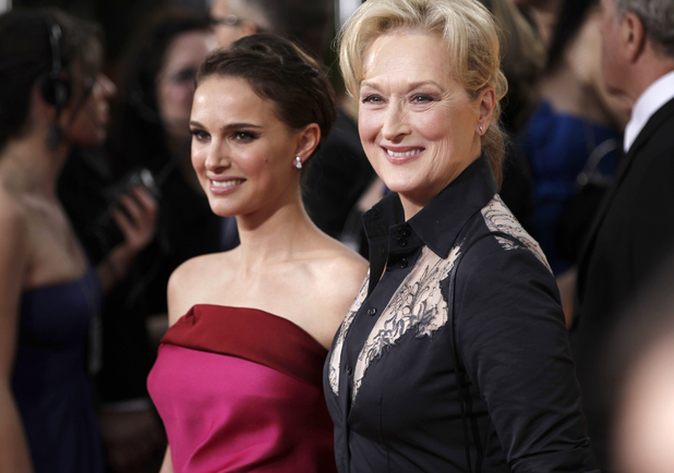 Natalie Portman and Meryl Streep