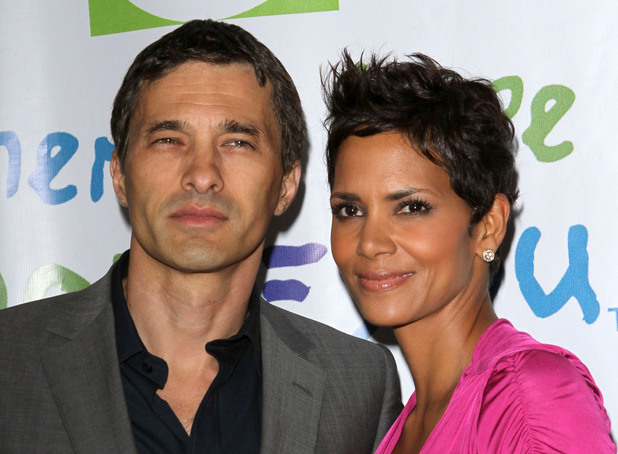 Halle Berry and Olivier Martinez Halle Berry honored at the Silver Rose awards gala with Grey Goose Los Angeles, California