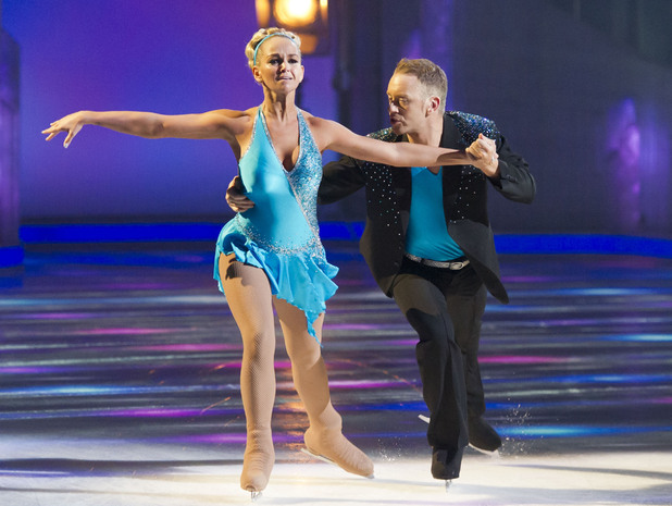 Jennifer Ellison and Daniel Whiston