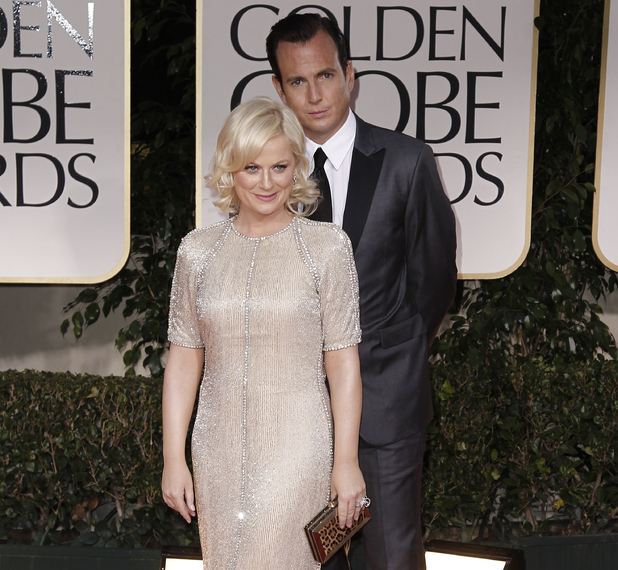 Amy Poehler with Will Arnett