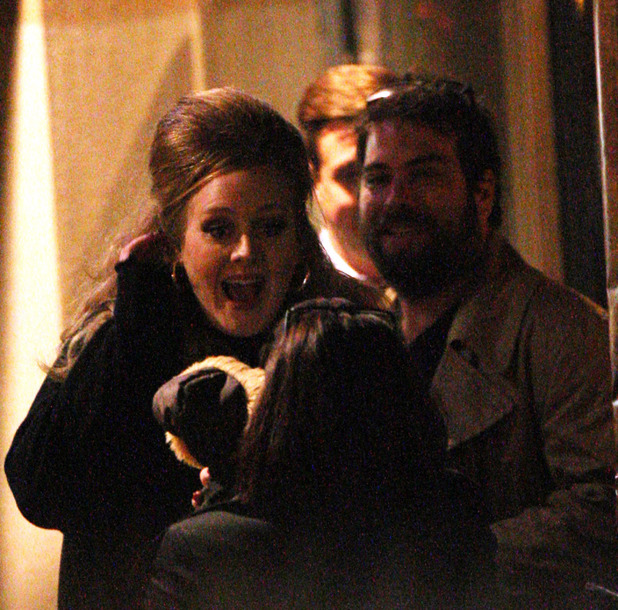 Adele and boyfriend Simon Konecki