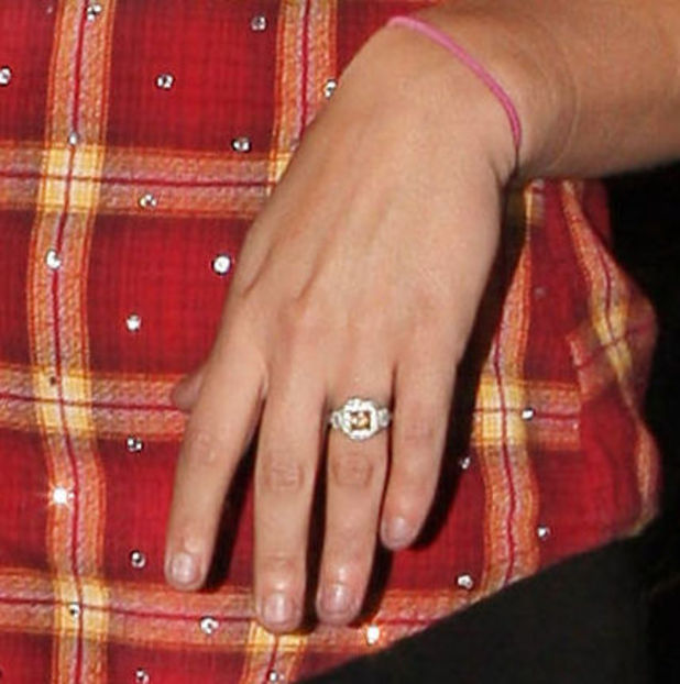 Guess the engaged celebrity...
