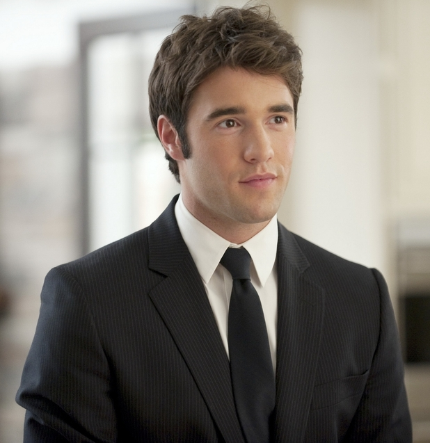 Joshua Bowman looking dapper in a suit