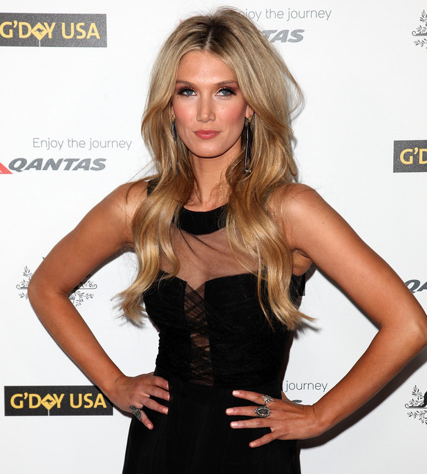 Delta Goodrem 9th Annual G'Day USA Gala held at the Grand Ballroom inside the Hollywood & Highland Center - Arrivals Los Angeles, California