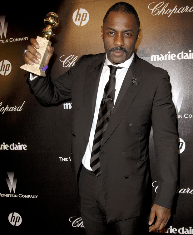 Idris Elba, The Weinstein Company 2012 Golden Globe After Party at the Beverly Hilton in Los Angeles