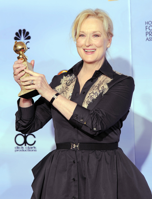 69th Annual Golden Globes - press room gallery