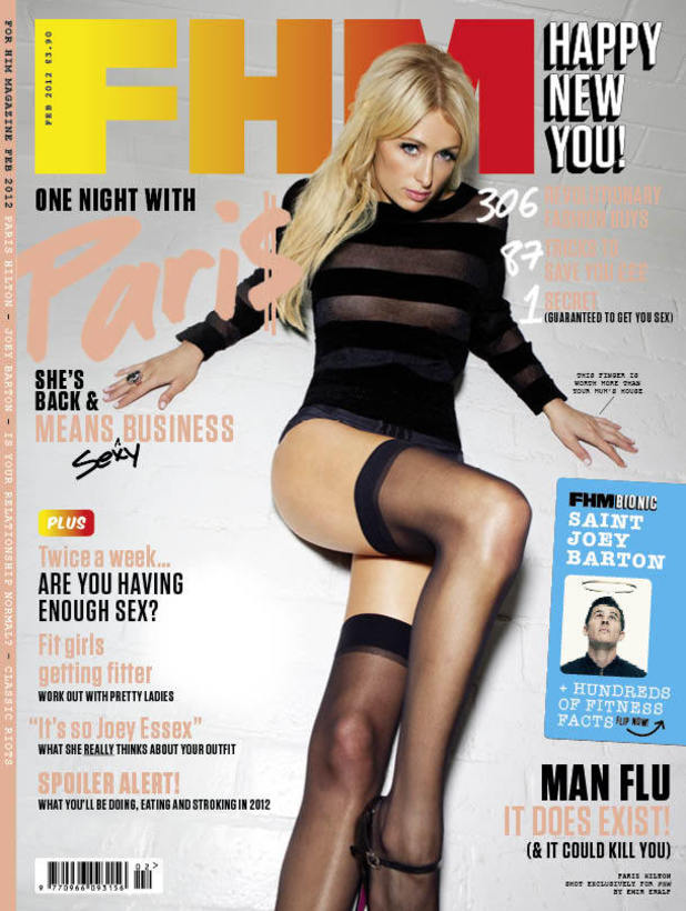 FHM magazine, Paris Hilton