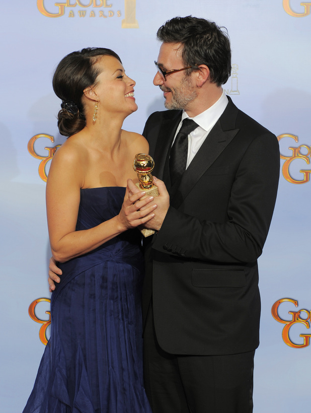 Michel Hazanavicus and wife Berenice Bejo