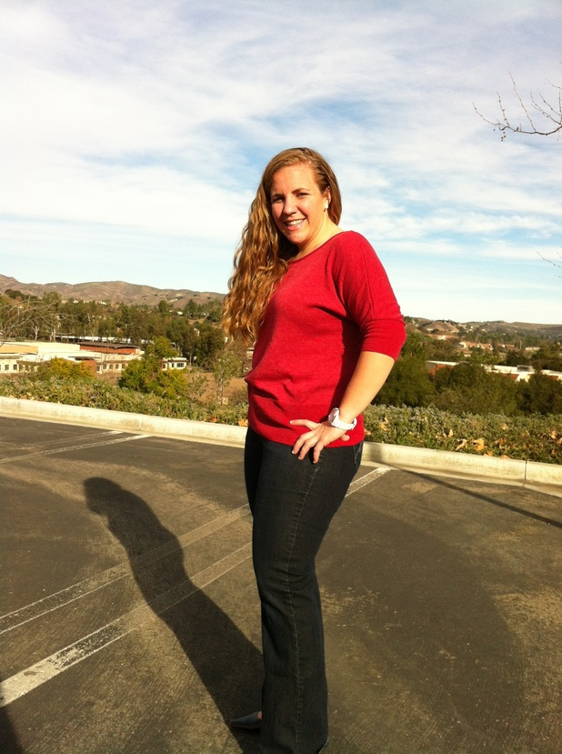 """After"" photo of Lauren Lee/latest eliminated contestant from NBC's ""The Biggest Loser"""