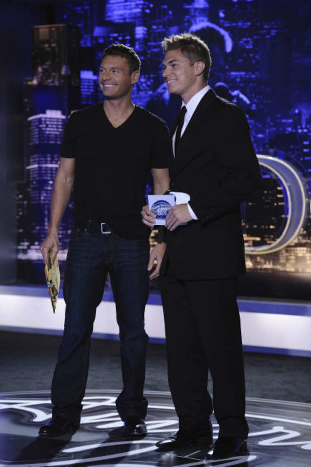 American Idol Season 11 Premiere: Contestant Shaun Kraisman and Ryan Seacrest