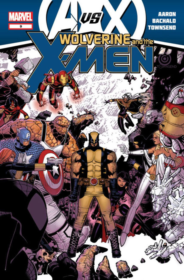 Avengers vs X-Men Wolverine and the X-Men #9