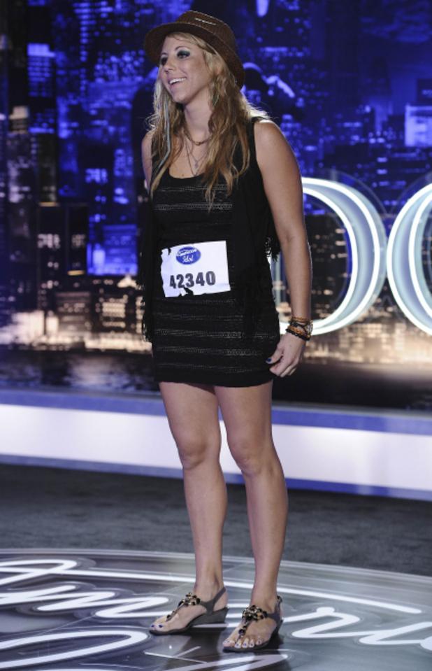 Contestant Elise Teston