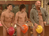 Gareth Thomas, Frankie Cocozza, Kirk Norcross, Celebrity Big Brother