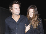Kate Beckinsale and Len Wiseman leaving The Roger Room Los Angeles