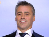 A delighted Matt LeBlanc, who was recognised for his role in Episodes