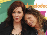 Erin Brady and Steven Tyler Nickelodeon's 2011 Kids Choice Awards held at USC's Galen Center Los Angeles, California