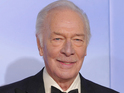 Christopher Plummer with his trophy for Beginners
