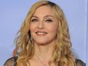 Madonna challenges Ricky Gervais for his jokes at the Golden Globe awards.