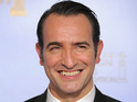 Jean Dujardin causes uproar in France over a sexually-themed film poster.