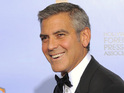 George Clooney says it's hard to see someone he knows struggle.