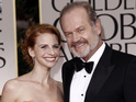 "Kelsey Grammer and Katye Walsh renew vows in ""shotgun wedding""."