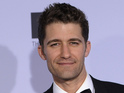 Glee star Matthew Morrison has denied mocking Kelly Brook's intelligence.