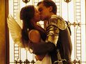 Claire Danes and Leonardo DiCaprio  in 'Romeo & Juliet' USA -1996
