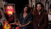 Stars Natalia Tena and Luke Treadaway chat about the experience of shooting a whole movie over 5 days at a the T In The Park festival.