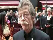 Acting legend John Hurt reveals secrets of the new Indiana Jones movie.