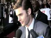 DS chats to Zac Efron at the London premiere of his new movie '17 Again'.