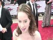 National Movie Awards 2008: Anna Popplewell
