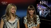 '4.3.2.1' stars Tamsin Egerton and Ophelia Lovibond talk about their upcoming roles.
