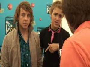 Danny and Tom from McFly